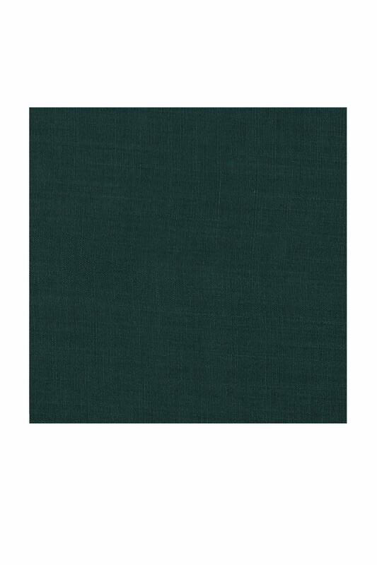 Payidar İpek - Payidar İpek Dikişsiz Düz Yazma 100 cm | Zümrüt 015