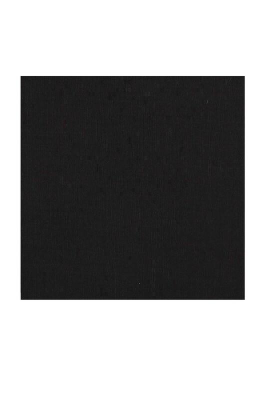 Payidar İpek - Payidar İpek Dikişsiz Düz Yazma 100 cm | Siyah