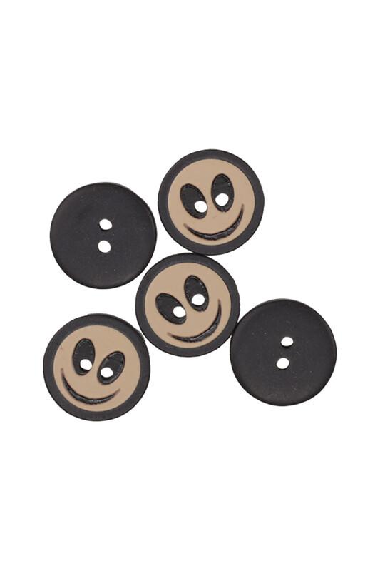 SİMİSSO - Emoji Desenli Düğme 5 Adet