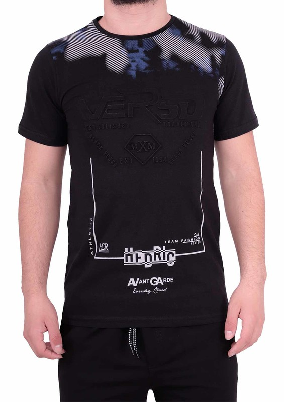 ENİŞTE - Enişte T-Shirt 1001 | Siyah