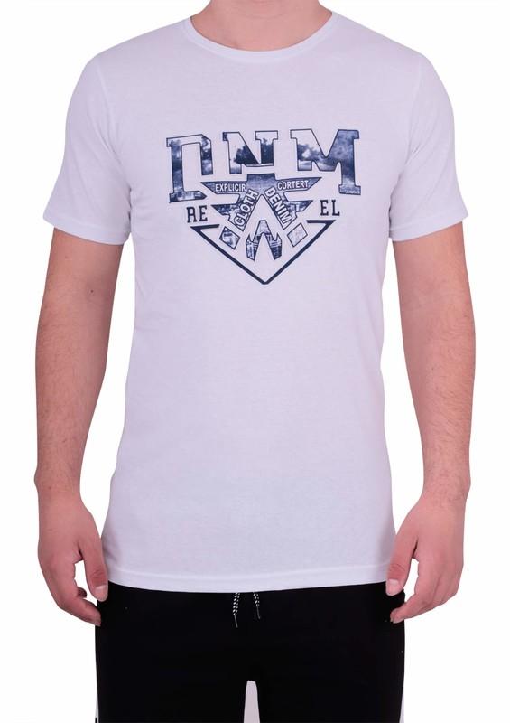 ENİŞTE - Enişte T-Shirt 1002   Beyaz