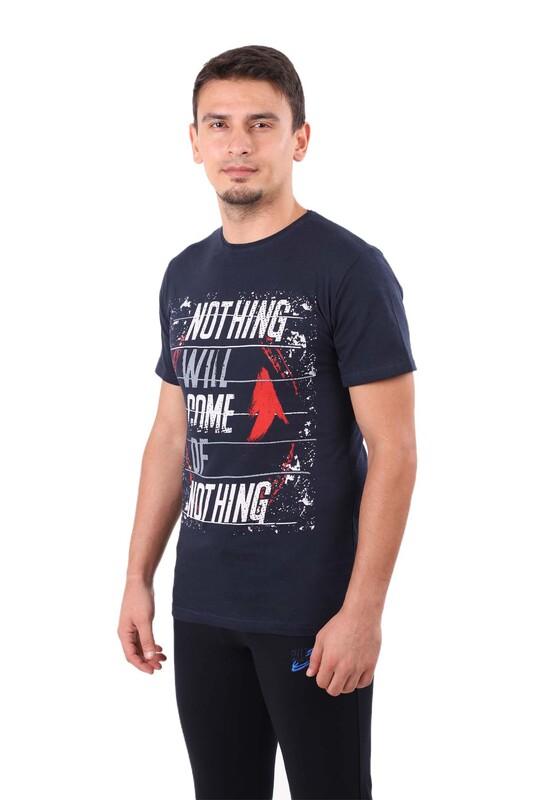 ENİŞTE - Enişte T-Shirt 1003 | Lacivert