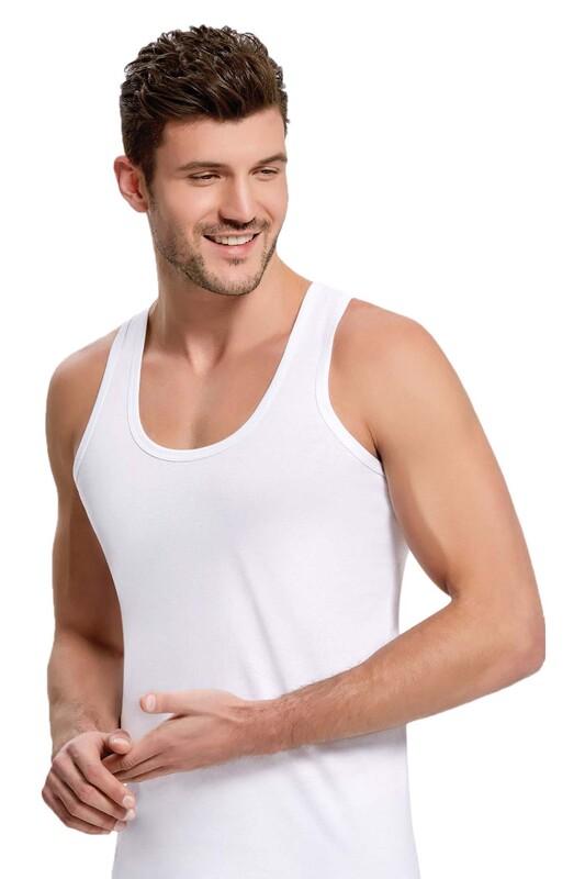 İLKE - İlke Askılı Atlet 101 | Beyaz