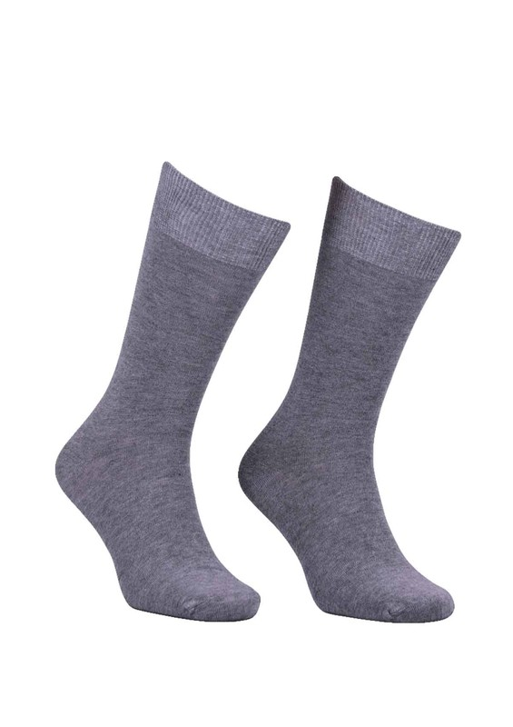SİMİSSO - Erkek Bambu Çorap 103 | Gri
