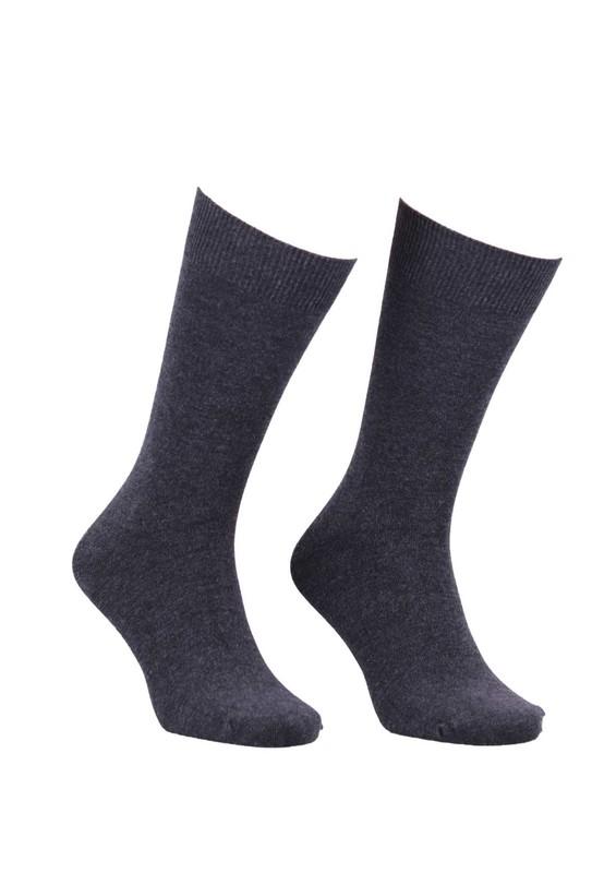 SİMİSSO - Erkek Bambu Çorap 103 | Siyah Gri