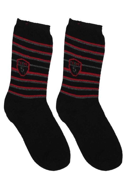ÜÇ-EL - Erkek Çocuk Çorap 53   Siyah