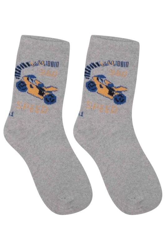 ÜÇ-EL - Erkek Çocuk Çorap 54   Gri