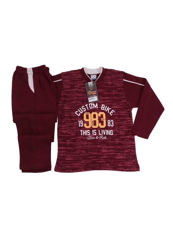 Simisso Pijama Takımı 983 | Bordo