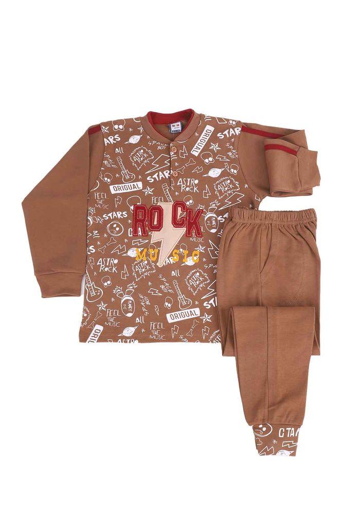 Simisso Pijama Takımı 985 | Kahverengi