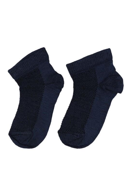 SİMİSSO - Erkek Çocuk Soket Çorap | İndigo