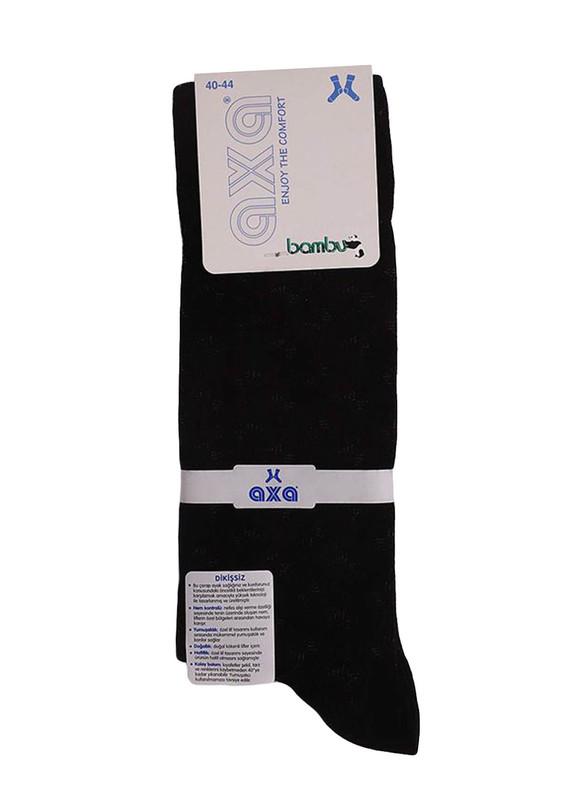 AXA - Axa Bambu Çorap 036   Siyah