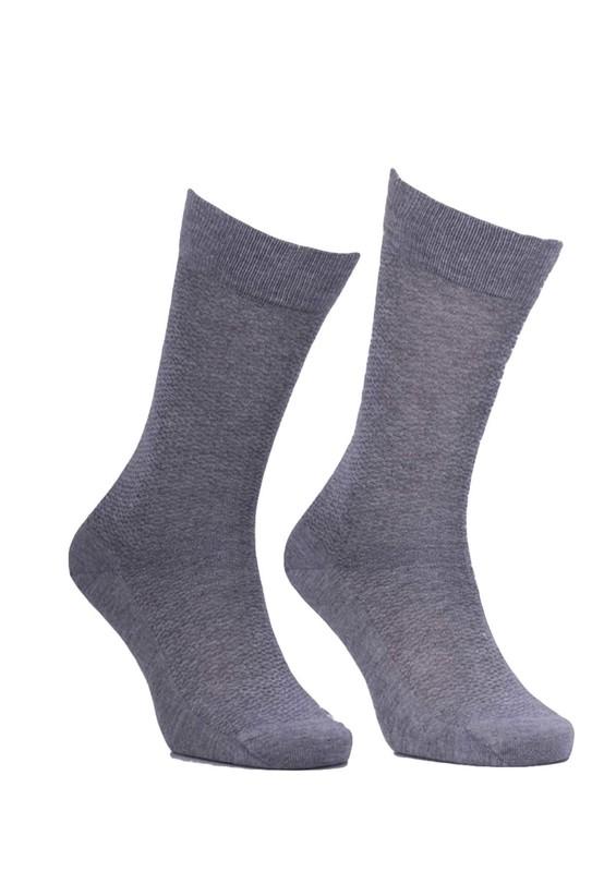 JİBER - Jiber Bambu Çorap 5501   Gri