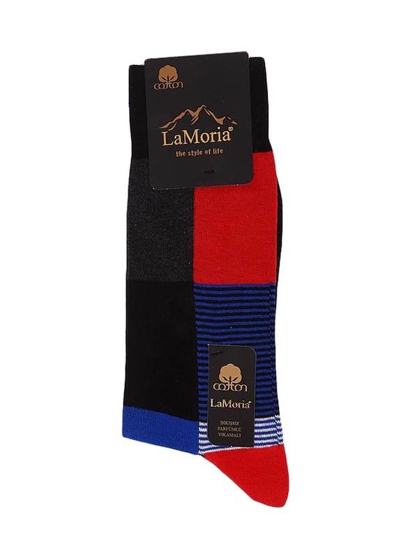 LA MORİA - La Moria Dikişsiz Çorap 31627   Kırmızı