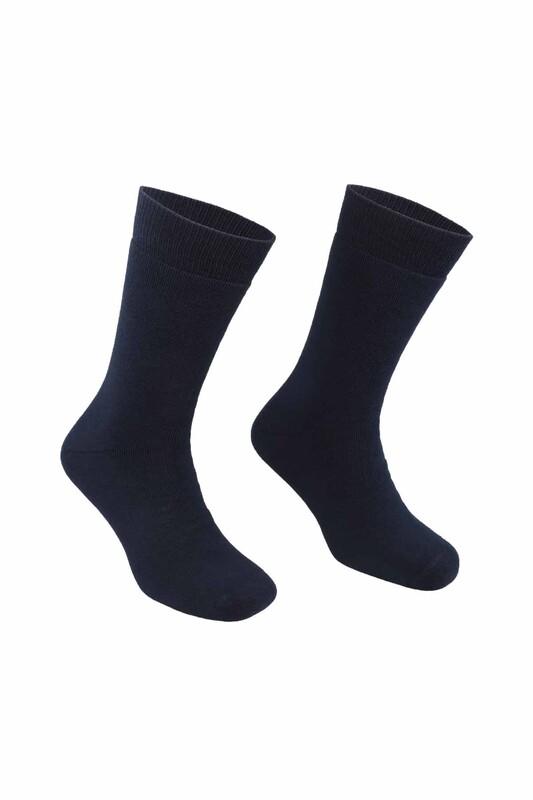 PİERRE CARDİN - Pierre Cardin Erkek Düz Havlu Çorap 585   Lacivert