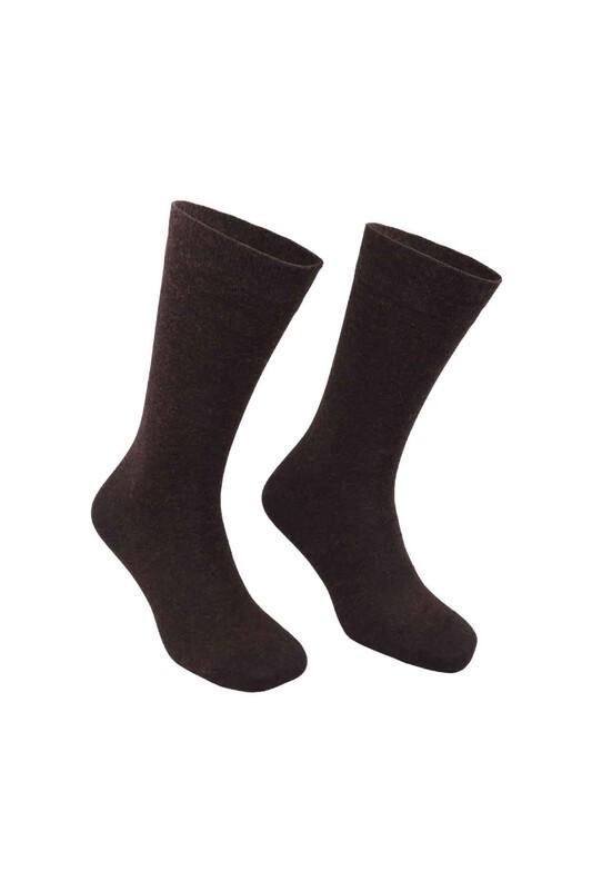 PİERRE CARDİN - Pierre Cardin Bambu Yün Erkek Çorap 650   Kahverengi
