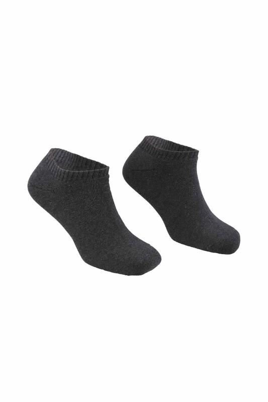 PİERRE CARDİN - Pierrce Cardin Erkek Havlu Patik Çorap 2029   Antrasit