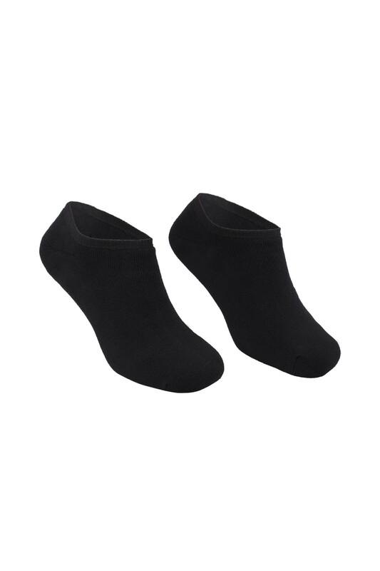 PİERRE CARDİN - Pierre Cardin Erkek Havlu Patik Çorap 4300   Siyah