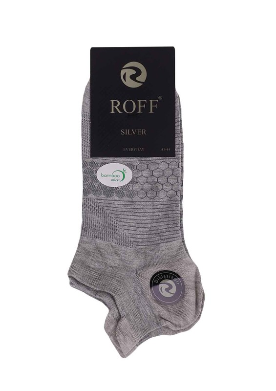 ROFF - Roff Bambu Çorap 10504 | Gri
