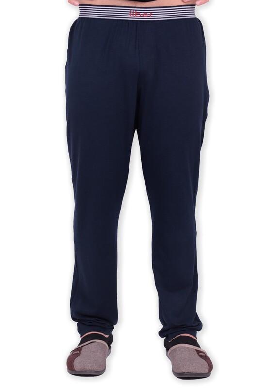 JİBER - Jiber Modal Tek Alt Erkek Pijama 4633 | Lacivert