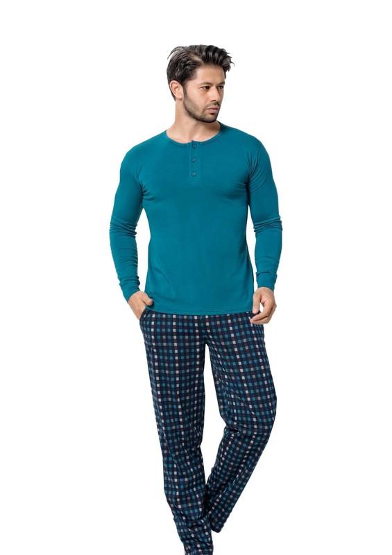 AYDOĞAN - Aydoğan Pijama Takımı 3999 | Mavi