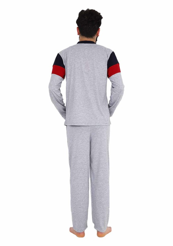 Işılay Pijama Takımı 7250 | Gri - Thumbnail