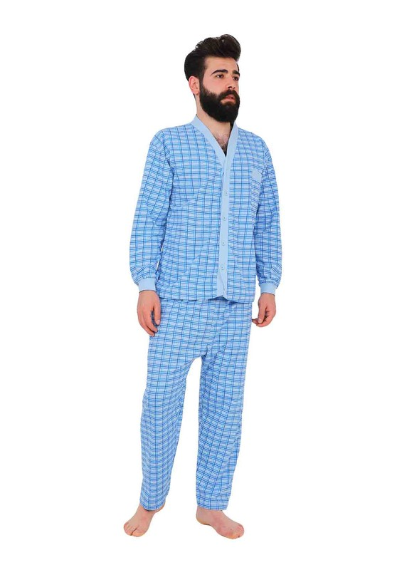 ITAN - İtan Pijama Takımı 358 | Mavi