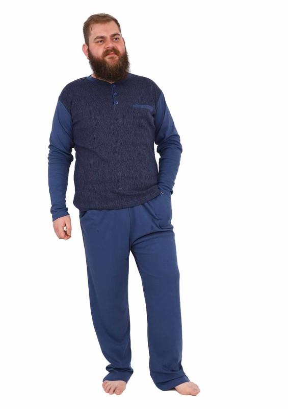 PERTAŞ - Pertaş Pijama Takımı 1050 | İndigo