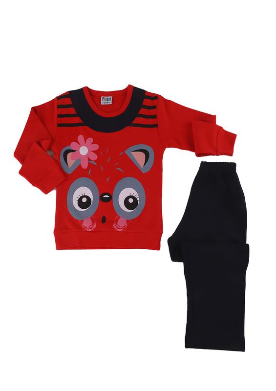 FAPİ - Fapi Pijama Takımı 5117   Kırmızı