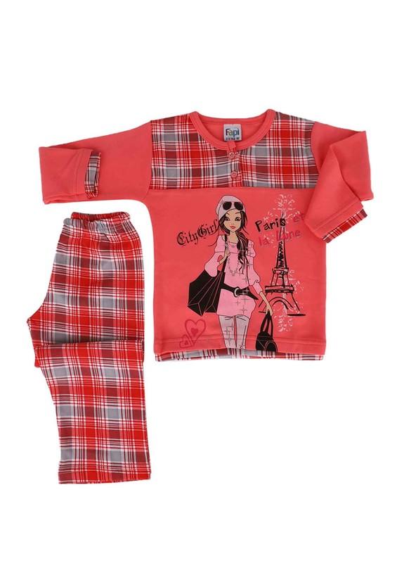 FAPİ - Fapi Pijama Takımı 6110   Yavru Ağzı