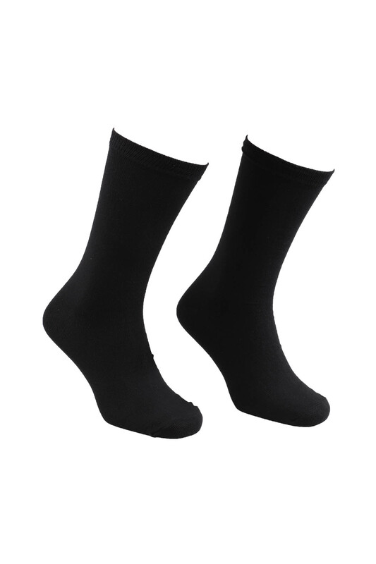 FİENFİ - Fienfi Erkek Soket Çorap | Siyah