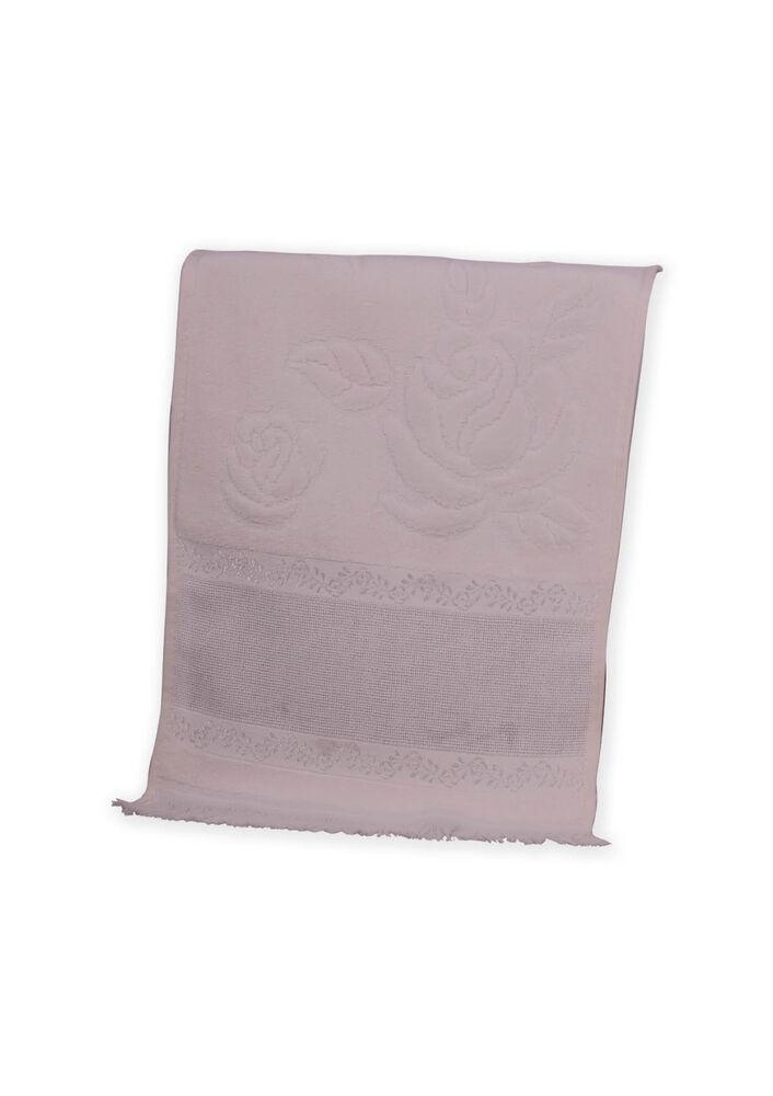 Fiesta Soft Kadife İşleme Havlusu Saçaklı 30 x 50 | Krem