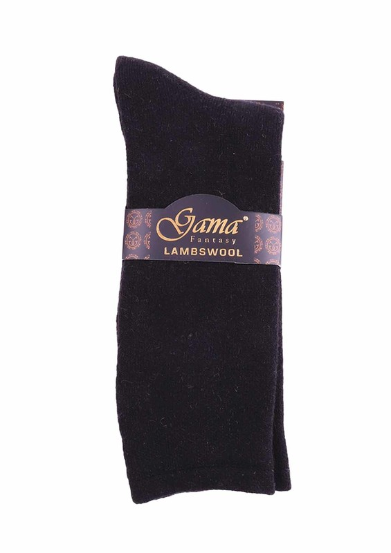 GAMA - Gama Yün Çorap 370   Siyah
