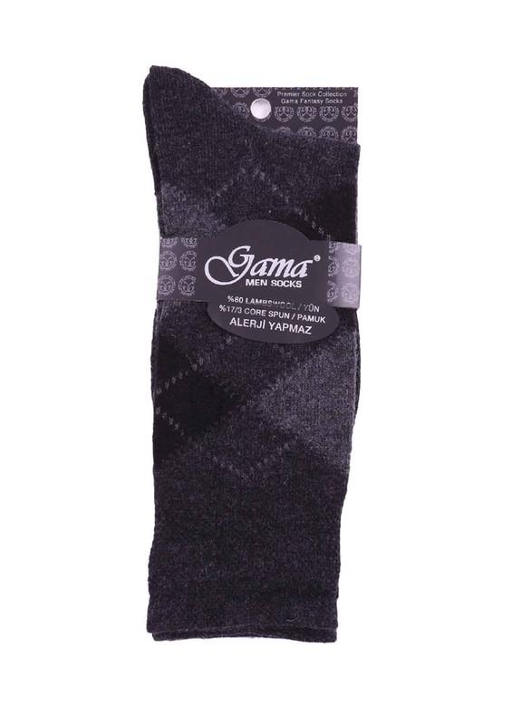GAMA - Gama Yün Çorap 371 | Antrasit