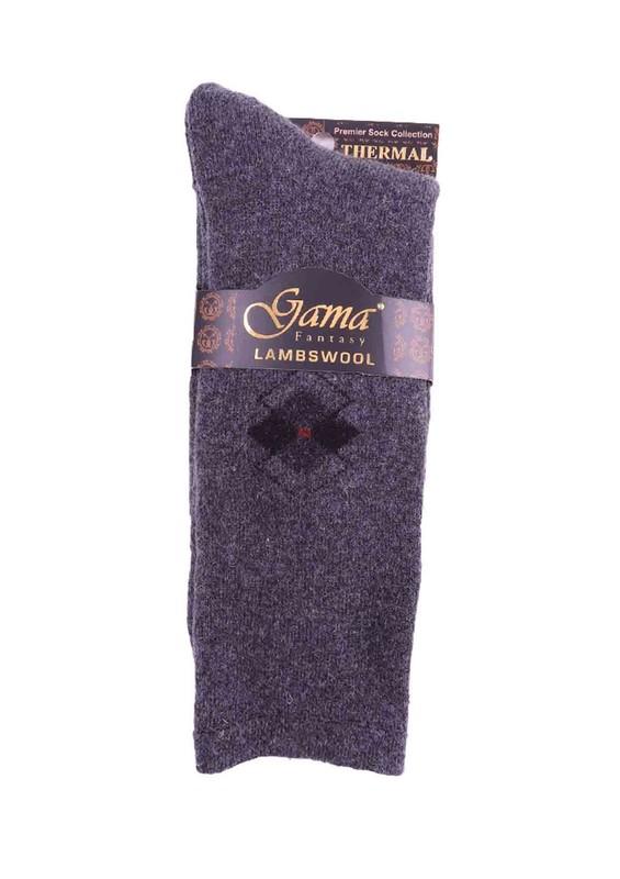 GAMA - Gama Yün Çorap 373   Gri