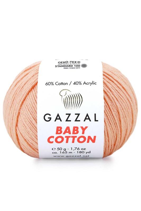 Gazzal - Gazzal Baby Cotton El Örgü İpi 50 gr 3412