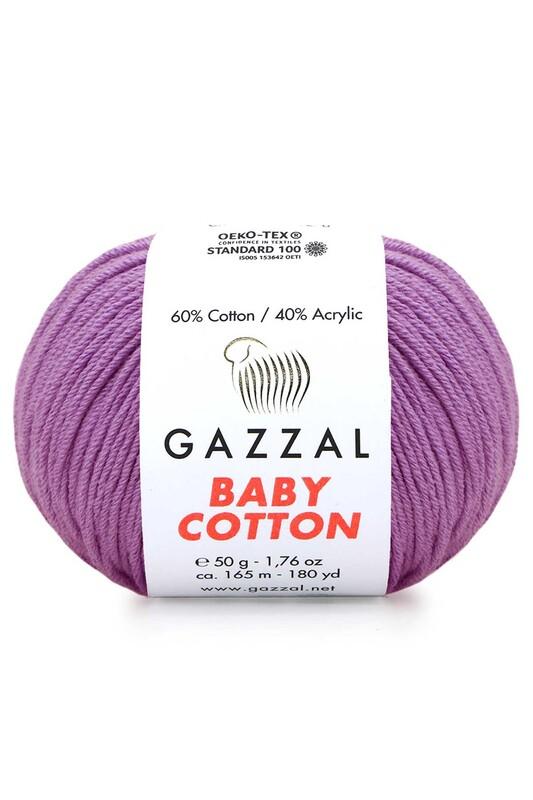 Gazzal - Gazzal Baby Cotton El Örgü İpi 50 gr 3414