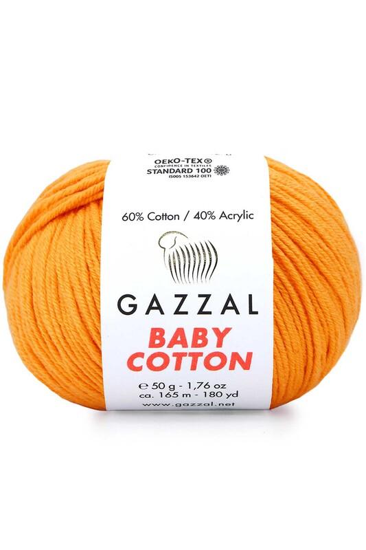 Gazzal - Gazzal Baby Cotton El Örgü İpi 50 gr 3416