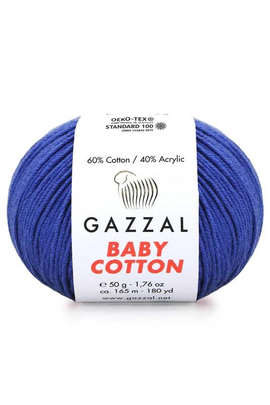 Gazzal - Gazzal Baby Cotton El Örgü İpi 50 gr 3421