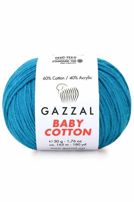 Gazzal - Gazzal Baby Cotton El Örgü İpi 50 gr 3428