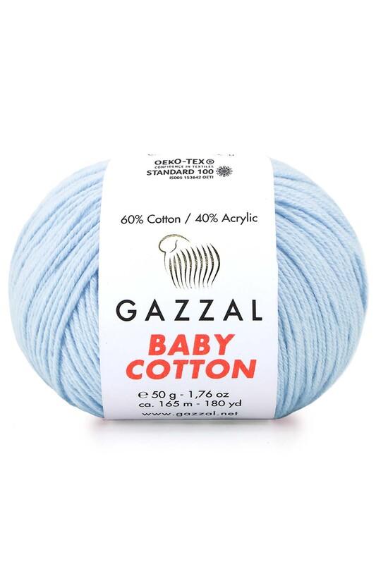 Gazzal - Gazzal Baby Cotton El Örgü İpi 50 gr 3429