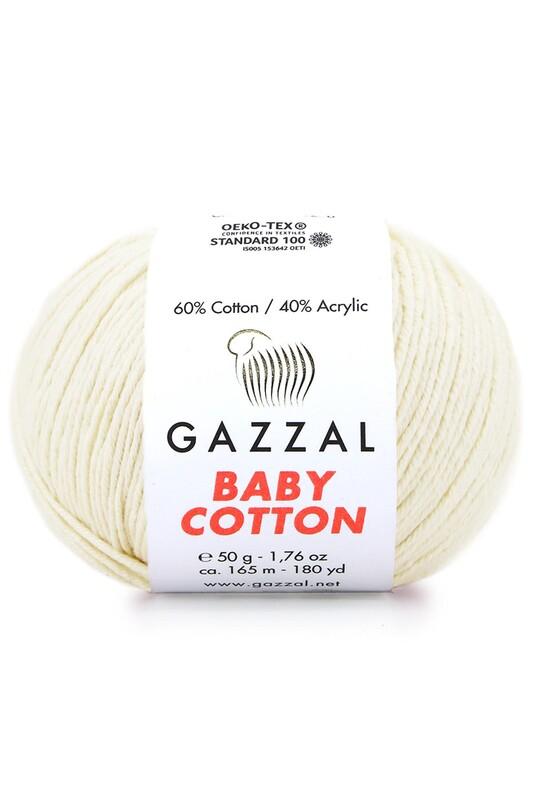 Gazzal - Gazzal Baby Cotton El Örgü İpi 50 gr 3437