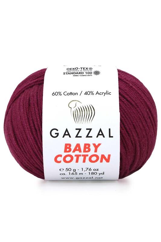 Gazzal - Gazzal Baby Cotton El Örgü İpi 50 gr 3442