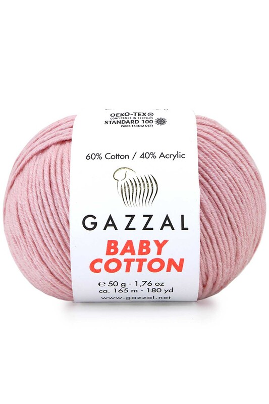 Gazzal - Gazzal Baby Cotton El Örgü İpi 50 gr 3444