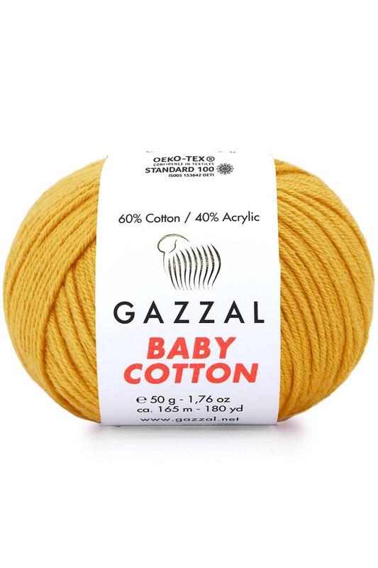 Gazzal - Gazzal Baby Cotton El Örgü İpi 3447