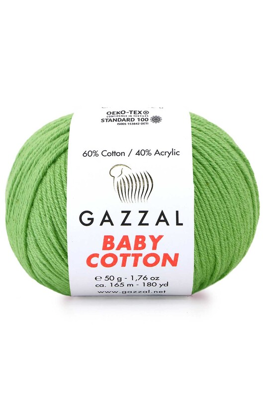 Gazzal - Gazzal Baby Cotton El Örgü İpi 50 gr 3448
