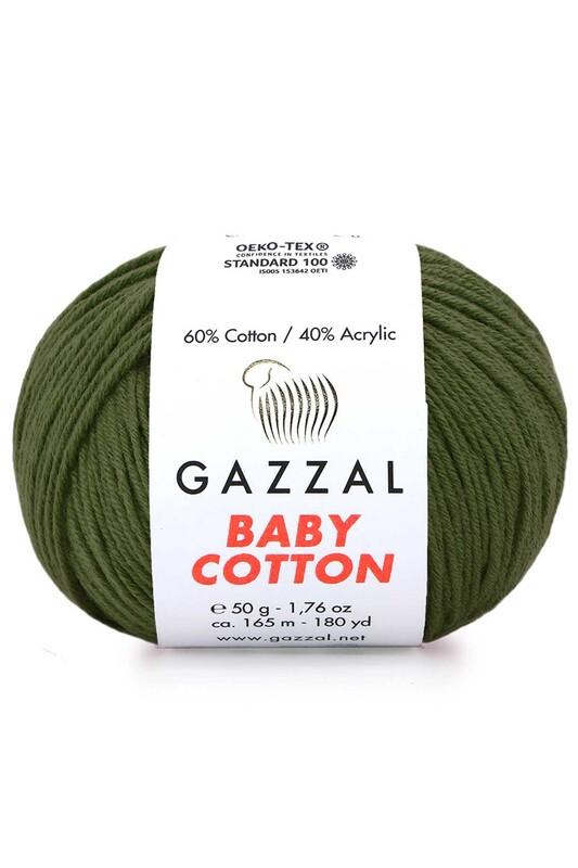 Gazzal - Gazzal Baby Cotton El Örgü İpi 50 gr 3463