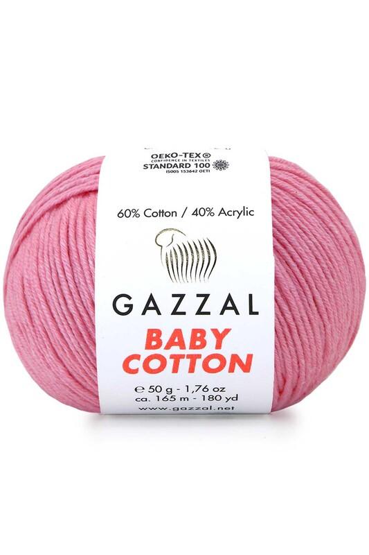 Gazzal - Gazzal Baby Cotton El Örgü İpi 50 gr 3468