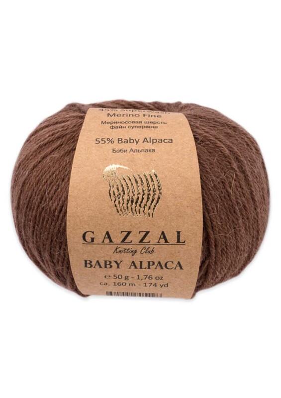 Gazzal - Gazzal Baby Alpaca El Örgü İpi 50 gr   46002