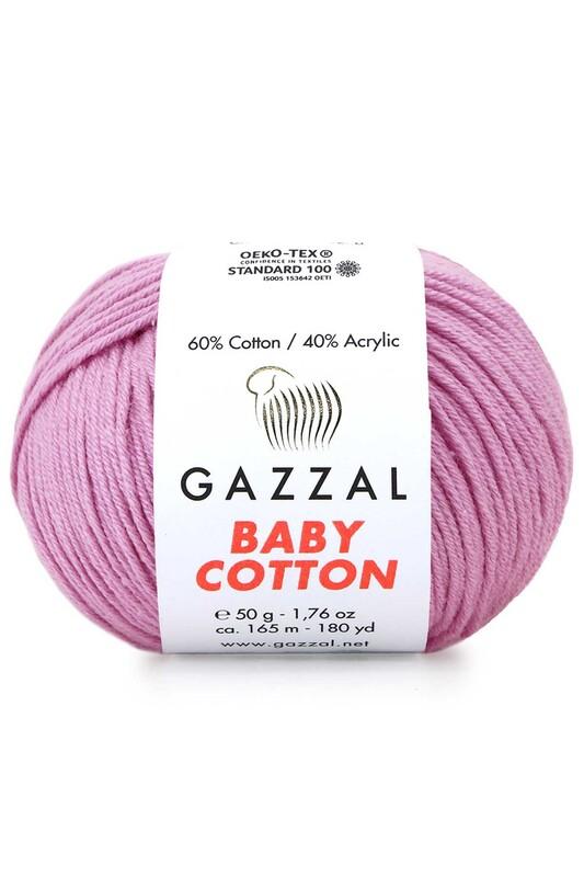 Gazzal - Gazzal Baby Cotton El Örgü İpi 3422