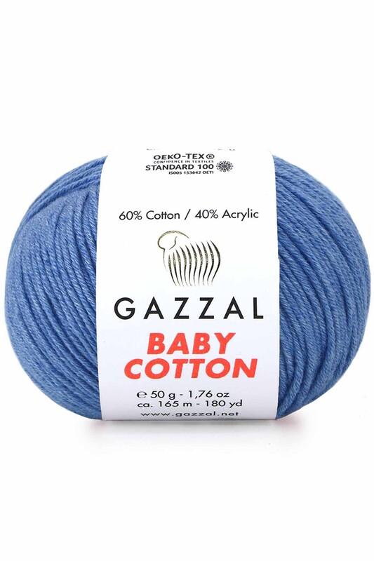 Gazzal - Gazzal Baby Cotton El Örgü İpi 3431